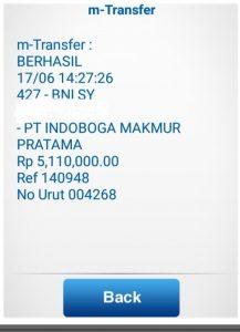 Alhamdulillah transfer paket Tahu Mafia Gangster Paket Karten 087748824888 Usaha Tahu Krispi TERLARIS