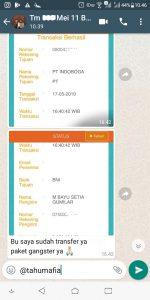 Alhamdulillah transfer tahu mafia paket Gangster 087748824888 Usaha Tahu Krispi TERLARIS
